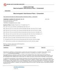 Sample Electrician Resume by Ul Tuv Rohs Safety Certificate Emi Filter 10a With Fuse Buy Emi