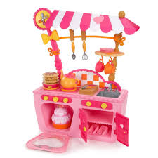 Pink Kitchen Accessories by Lalaloopsy Magic Play Kitchen And Cafe Walmart Com