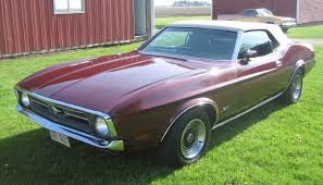 1971 mustang paint colors