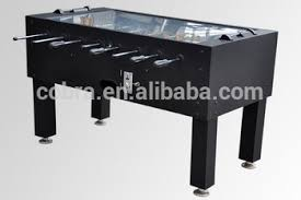 electronic table football game electric scoring foosball table coin operated soccer table home use