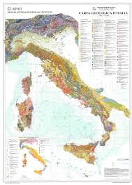 Map Scales The Geological Map Of Italy 1 250 U0027000 Scale U2014 English