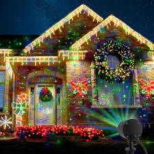 outdoor christmas light decorations christmas laser christmas light image inspirations green red