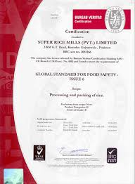bureau veritas pakistan certifications rice mills