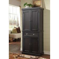 black kitchen pantry cabinet kitchen decoration