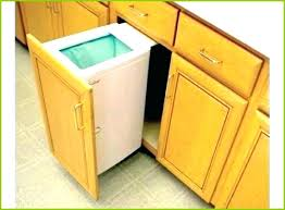 kitchen cabinet trash pull out pull out trash cabinet smarton co