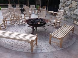 Outdoor Furniture Asheville by Polymer Overlay Carolina Concrete Designs Inc Asheville