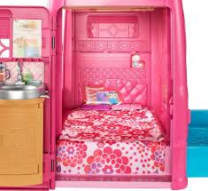 barbie pop up camper toys