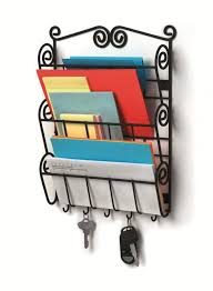 Decorative Key Racks For The Home 10 Beautiful Wall Mount Letter Holders For Home Office Rilane