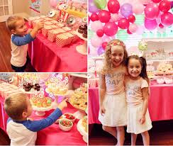 how to decorate for a birthday party at home sophia and sienna u0027s shopkins party at home with natalie