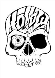cool easy skull designs to draw homedesignlatest site