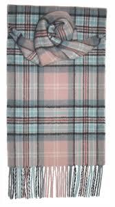 diana princess of wales memorial rose tartan lambswool scarf
