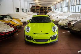 birch green porsche 911 gt3 rs by porsche exclusive gtspirit