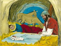 free bible images angels announce the birth of jesus to shepherds