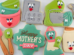 s day cookies mothers day cookies house cookies