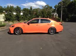 lexus gs f orange lexus gs u2013 f a normally aspirated v8 four door saloon style