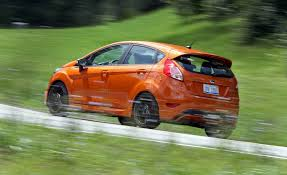 Ford Escape Fuel Economy - 2017 ford fiesta st in depth model review car and driver