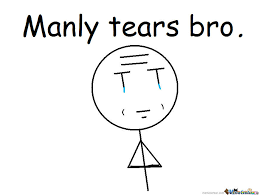 Tears Meme - manly tears bro new rage face by recyclebin meme center