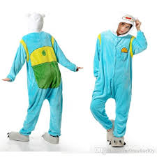 adventure time finn women sleepwear animal onesies pajamas cosplay