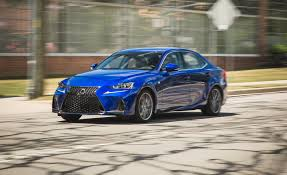 lexus is 2017 lexus is review car and driver