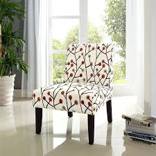 White Leather Accent Chair Armchairs Cheap High Back Wing Arm Chair Contemporary Armchairs