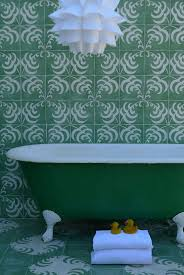 Green Tile Bathroom Ideas by 29 Best Tile Images On Pinterest Cement Tiles Bathroom Ideas