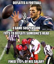 Nfl Meme - meme of tom brady adam jones show how idiotic nfl discipline is