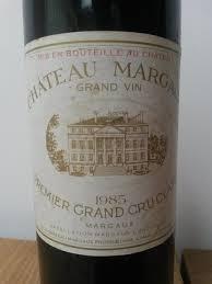 chateau margaux i will drink 1985 chateau margaux 1er grand cru classe margaux 1 bottle