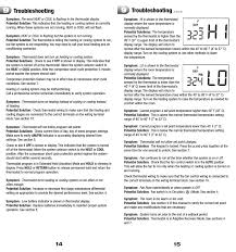 how to set a braeburn thermostat thermostat manual