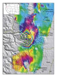 Oregon Volcano Map by Satellite Applications For Geoscience Education