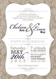 Wedding Invitations Ottawa Lace And Burlap Wedding Invitations