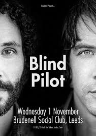Blind Piolot Blind Pilot Plus Guest Support Gig At Leeds Brudenell Social Club