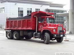 volvo mack dealer on the job u2013 red dump trucks
