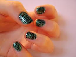 zebra stripe your nails 6 steps