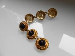 90 s earrings 80s earrings 90s earrings 90s gold earrings versace earrings