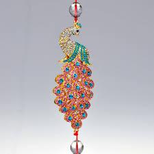 gs110 pendant peacock ornaments automotive