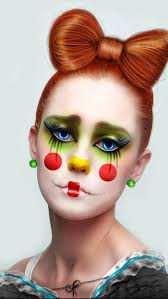 Halloween Makeup Clown Faces by 23 Best Clowns Images On Pinterest Clown Costumes Clowning