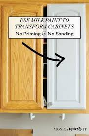 refinish wood cabinets without sanding how to remove wood grain painting oak cabinets wood grain and