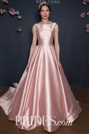 pink wedding dresses 61 colored wedding dresses from bridal fashion week brides