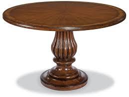woodbridge furniture dining room pedestal dining table 5039bt46 11