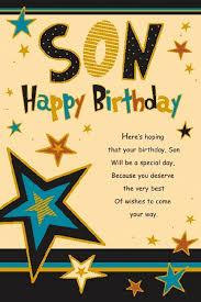 son birthday greetings
