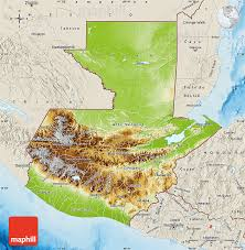 geographical map of guatemala physical map of guatemala shaded relief outside