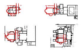 Roman Bath House Floor Plan by Digital Building Heritage