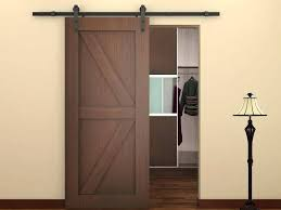 Bypass Closet Door Hardware Wood Bypass Closet Doors Black Wood Sliding Door Hardware Set