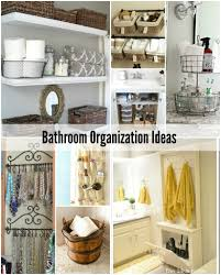Bathroom Countertop Storage by Bathroom Organization Ideas Home Decor Gallery