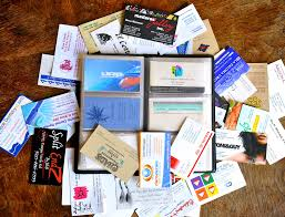 Creating Business Cards In Word How To Collect Business Cards 10 Steps With Pictures Wikihow