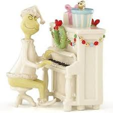 lenox grinch s melody figurine piano dr seuss who stole