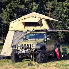 jeep roof top tent tuff stuff overland rooftop camping tent with annex room black