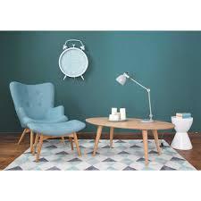 fauteuil de la maison table basse vintage tapis multicolore nordic fauteuil
