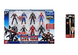 super hero captain america civil war 2 5 figure multipack