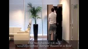 quiet server cabinet netshelter cx office demo youtube